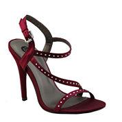 Michael Antonio Rest-Sat Rhinestone Sandals