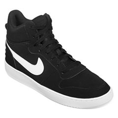 Nike® Court Borough Mid Mens Basketball Shoes