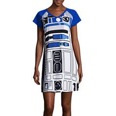 Disney Star Wars Short-Sleeve R2D2 Nightshirt