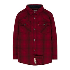 Levi's® Barstow Long-Sleeve Plaid Shirt - Preschool Boys 4-7
