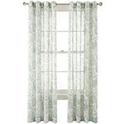 MarthaWindow™ Tuileries Grommet-Top Sheer Panel