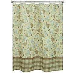 Bacova Guild Tetons Leaf Shower Curtain