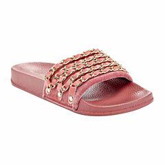 Henry Ferrera Paco Link Womens Slide Sandals