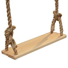 Classic Maple Wood Swing Swing Set