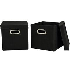 Household Essentials® Set of 2 Storage Cubes