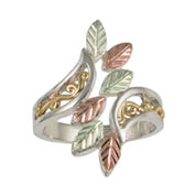Black Hills Gold Jewelry by Coleman® Filigree Sterling Silver Swirl Ring
