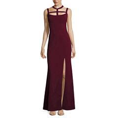 My Michelle® Sleeveless Cutout Long Slim Dress - Juniors