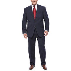 Stafford® Travel Stretch Navy Pinstripe Suit Separates- Big & Tall