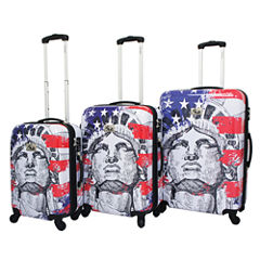 Chariot Travelware Liberty 3-pc. Hardside Luggage Set