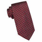 Collection by Michael Strahan™ Lafayette Circle Geo Silk Tie - Extra Long