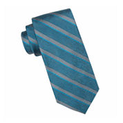 Collection by Michael Strahan™ Windsor Striped Silk Tie - Extra Long