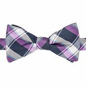 Stafford® Lafayette Plaid Pre-Tied Bow Tie