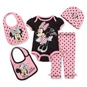 5-pc. Lil' Minnie Clothing Set - Baby Girls newborn-24m
