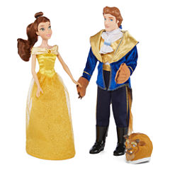 Disney Collection 2-pk. Belle and Beast Doll Set