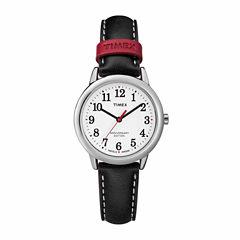Timex Easy Reader 40th Anniversary Womens Black Strap Watch-Tw2r40200jt