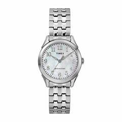 Timex Briarwood Womens Silver Tone Bracelet Watch-Tw2r48300jt