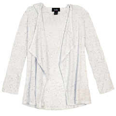 by&by girl Not Applicable Long Sleeve Cardigan - Big Kid Girls