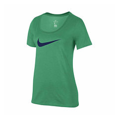 Nike® Short Sleeve Scoop Neck T-Shirt