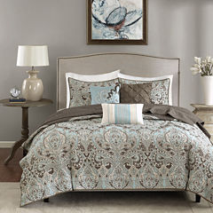 Madison Park Lavinia 6-pc. Quilted Coverlet Set