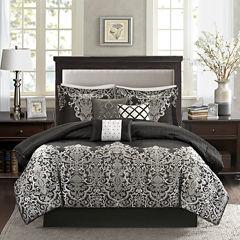 Madison Park Valerie 7-pc. Jacquard Comforter Set