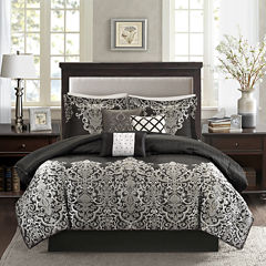 Madison Park Valerie 7-pc. Jacquard Comforter Set