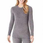 Cuddl Duds® Fleecewear Long-Sleeve Crewneck Shirt - Tall