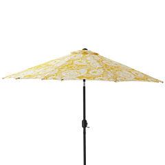 Pillow Perfect 9-Foot Patio Umbrella