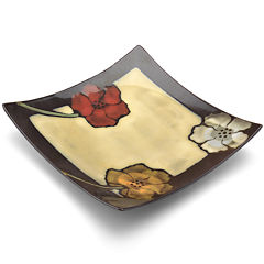 Pfaltzgraff® Painted Poppies Appetizer Plate