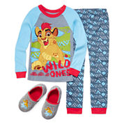 Disney Collection The Lion Guard 2-Pc. Cotton Pajama Set or Slippers - Boys