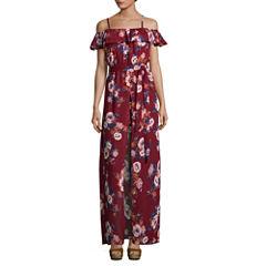 Secret Charm Sleeveless Maxi Dress-Juniors