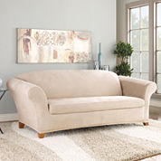 SURE FIT® Stretch Faux-Suede 2-pc. Sofa Slipcover