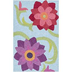 Loloi Flower Rectangular Rug
