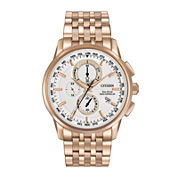 Citizen® Eco-Drive® World Chronograph A-T Mens Watch AT8113-55A