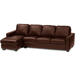 Leather Possibilities 2-pc. Right-Arm Sofa/Chaise Sectional