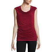 Alyx® Sleeveless Drape-Neck Knit Top