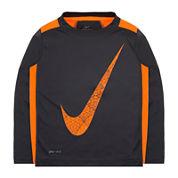 Nike® Dri-FIT Long-Sleeve Legacy Top - Toddler Boys 2t-4t