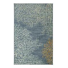 Mohawk Home Strata Coral Reef Printed Rectangular Rugs