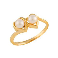 Girls 14K Gold Delicate Ring