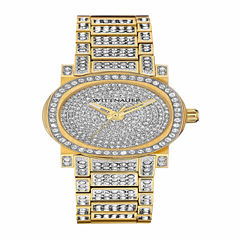 Wittnauer Womens Gold Tone Bracelet Watch-Wn4004