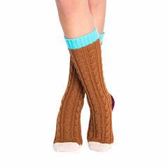 Muk Luks Cable Crew Socks Socks