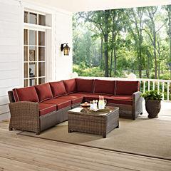 Bradenton Wicker 5-pc. Patio Lounge Set