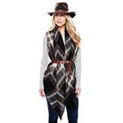 Panama Hat, Oversized Scarf or Reversible Belt