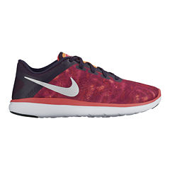 Nike Flex 2016 Run Print Girls Running Shoes - Big Kids