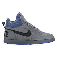 Nike Court Borough Mid Boys Athletic Shoes - Big Kids