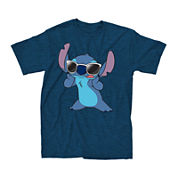 Short-Sleeve Stitch Famous Tee