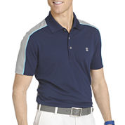 IZOD® Short-Sleeve Chambray Bay Golf Polo