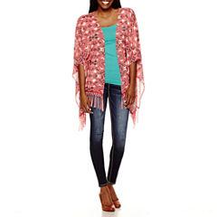 Rewind Kimono, Decree® Cami or YMI® Wanna Betta Butt Skinny Jeans