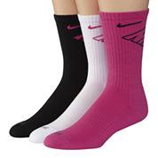 Nike® 3-pk. Dri-FIT Fly Crew Socks–Big & Tall