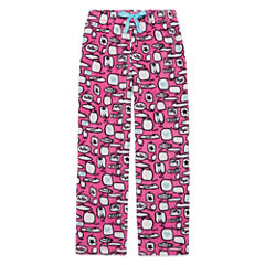 Total Girl Phlox Pink Chat Pajama Pants - Girls