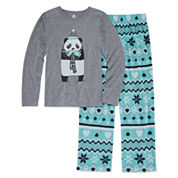 Total Girl 2-pc. Panda Pajama Set - Girls 7-16